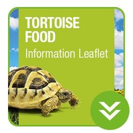 ProRep Tortoise Food Information Leaflet