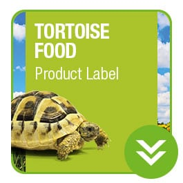 ProRep Tortoise Food Product Label Download