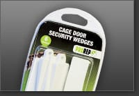 Cage Door Security Wedges
